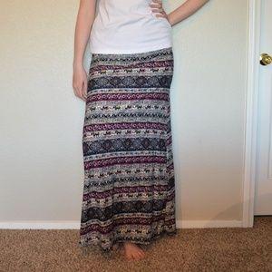 5 for $25! Hot Kiss Maxi Skirt